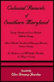 Maryland Court Records Marriage A Collection Of Maryland Church Records Henry C Peden Jr This Collection Consists