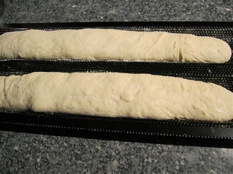 80 hydration loaf 80 hydration baguettes yeast attempt the