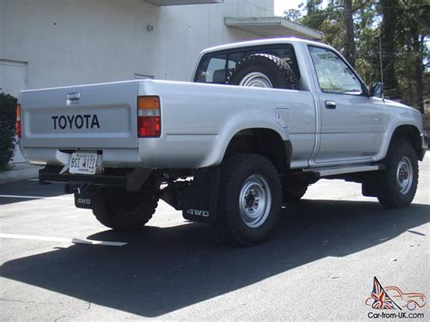 Toyota Bed by 1989 Toyota 4x4 Bed