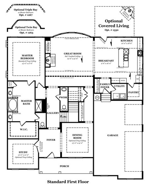 heartland homes floor plans heartland homes stanford floor plan
