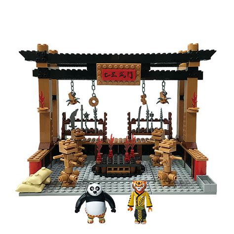 Lego Sembo Mcd By Sansipp Store aliexpress buy kung fu panda 3 building blocks 4