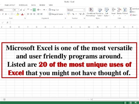 Applications Of Spreadsheet by 20 Unique Uses Of Excel Spreadsheets