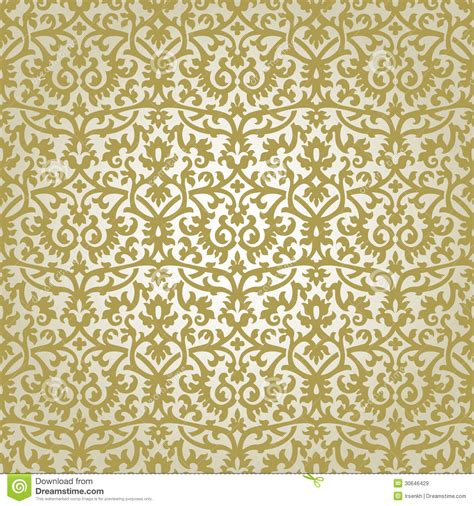 gold pattern seamless victorian ornament royalty free stock images image 30646429