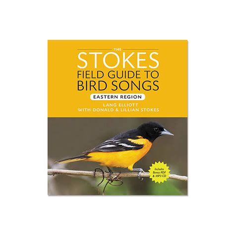 stokes field guide to bird songs eastern region audio cd