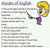 Murder Of English  Language Jokes