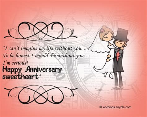Wedding Congratulations Humorous by Wedding Anniversary Messages Wordings And Messages
