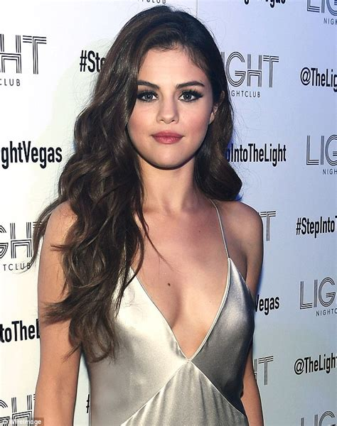 selena gomez turns heads in plunging gown on las vegas