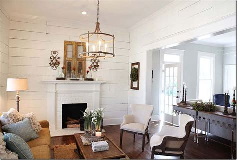 Painted Shiplap Walls painted shiplap walls two narrow console tables sometimes less expensive consoles