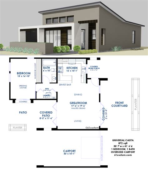 house plans with casita universal casita house plan