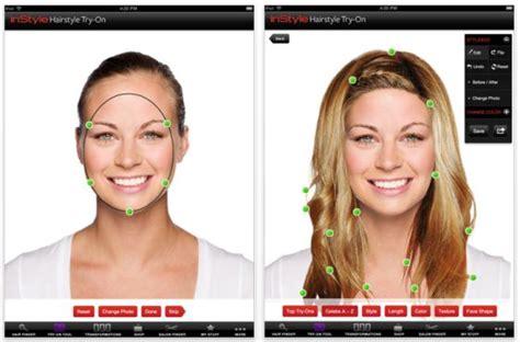instyle hairstyles app wie w 252 rde dir eine andere frisur stehen diese ipad app