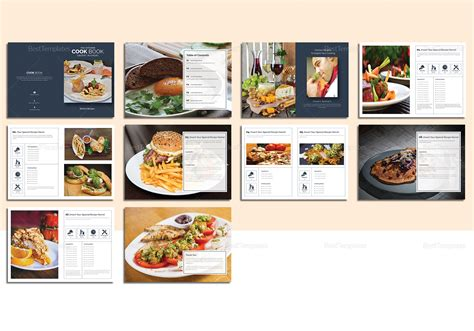 free catalog templates for publisher printable cookbook catalog template in psd word