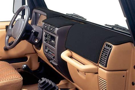 jeep tj custom dash coverking custom dash cover for 97 06 jeep 174 wrangler tj