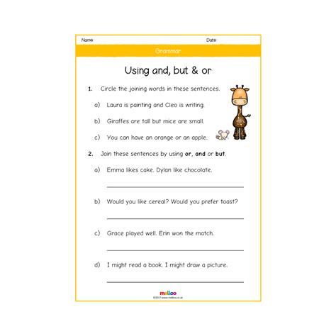 grammar year 2 worksheets ks2 melloo