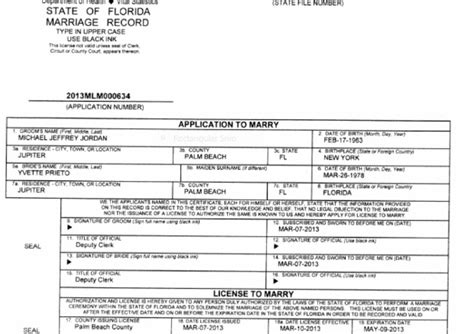 Broward County Marriage License Records Exclusive Michael S Marriage License Gossip