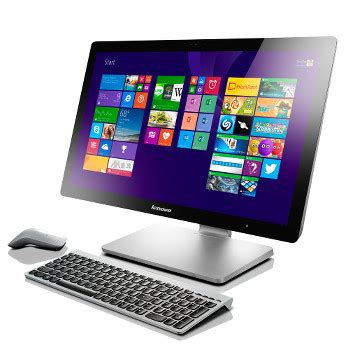 ordinateur de bureau tout en un lenovo pc tout en un ideacentre a540 23 quot f0an001mfr