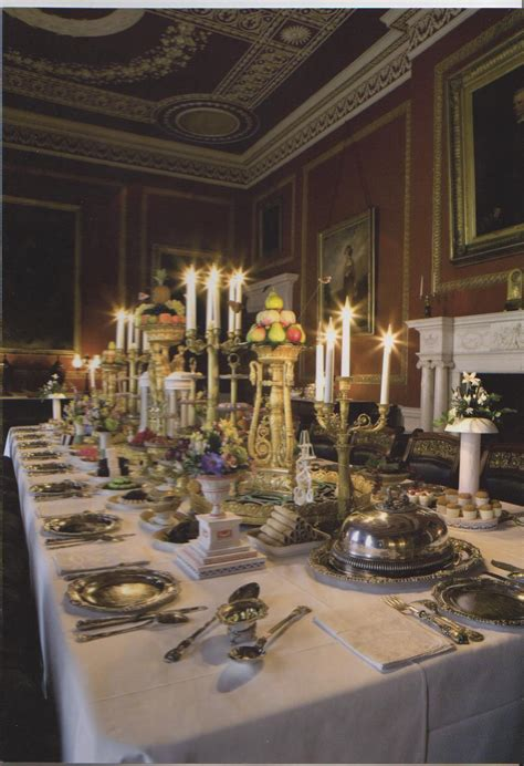 Regency Dining Room Historical Fiction Authors Nom Nom Nom Regency