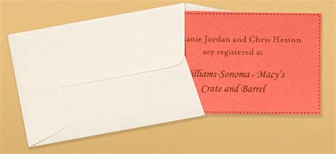 how to include registry information on bridal shower invitation make your own invitations