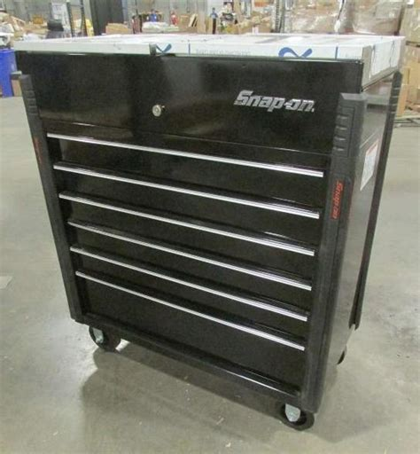 Snap On 6 Drawer Tool Box by Snap On 6 Drawer Roll Cart Tool Box With Stainless Split Top Krsc43pc