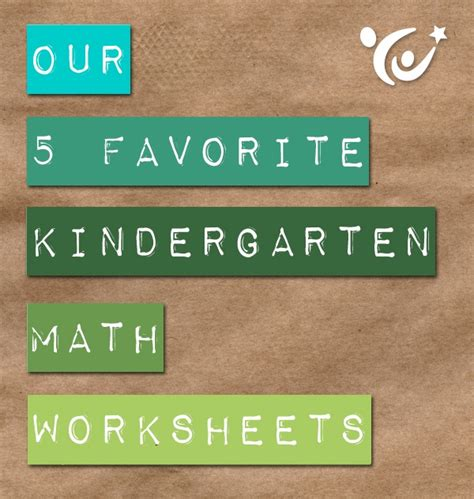 5 Buzz About Our Favorite by Our 5 Favorite Kindergarten Math Worksheets Free