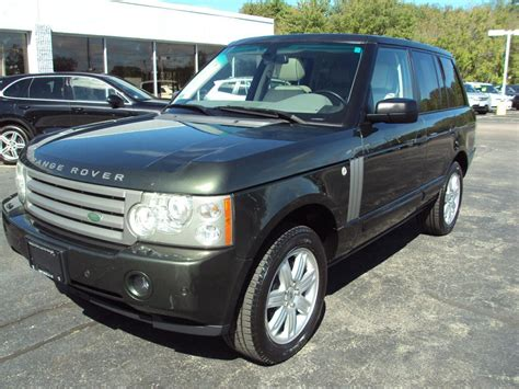 2008 range rover hse 2008 land rover range rover hse stock 1495 for sale near