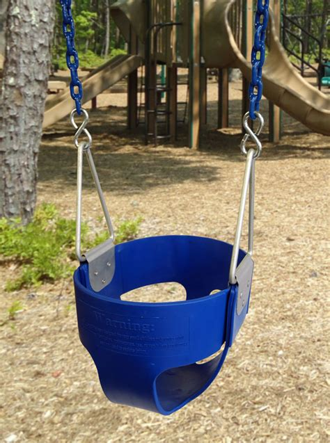 bucket swing with chain commercial full bucket swing seat with 8 6 quot chain