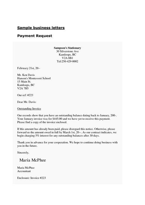 business letter format exle with enclosure letters