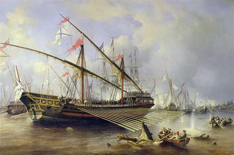 ottoman galley file ferdinand victor perrot the battle of grengam on