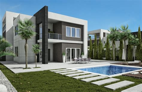 Modern Architecture Home Plans by Luxurious Modern Villas 468 5 M2 In Zayed City Eclectic