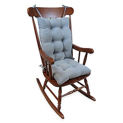 wide rocking chair cushions klear vu omega large 2 rocking chair pad set