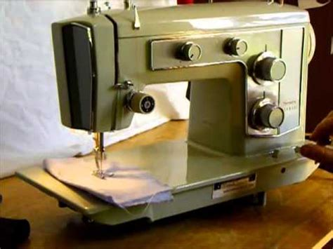 Sears Kenmore Sewing Machine Demonstration Youtube