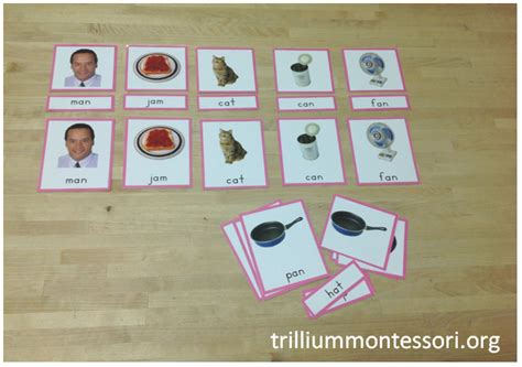 printable montessori language cards happy 4th of july and a flash freebie trillium montessori