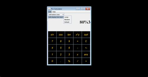 calculator in java using swing java calculator free software downloads at sourceforge net
