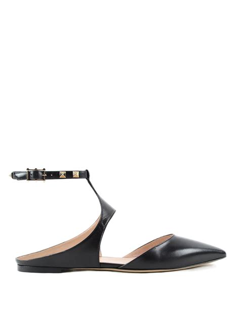 valentino shoes flat studded slingback flats by valentino garavani flat shoes