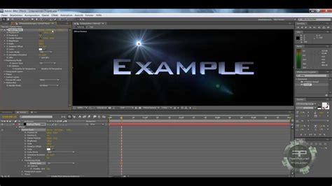 tutorial after effects beginner adobe after effects tutorial echte 3d schrift