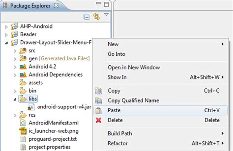 membuat layout menu android tutorial pemrograman dan source code android web mobile