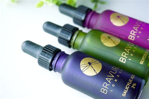 Bravura Lactic Acic tailor the skin with bravura acid peels the fruit compote