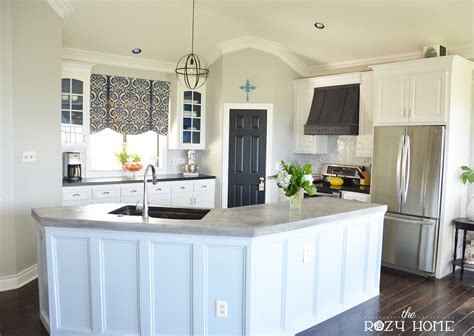 diy kitchen cabinet painting remodelaholic diy refinished and painted cabinet reviews