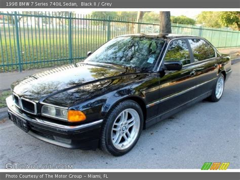 1998 bmw 740il black ii 1998 bmw 7 series 740il sedan grey interior