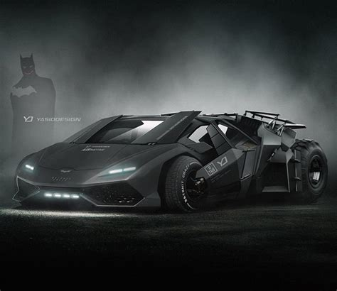 Batman Lamborghini What The Lamborghini Huracan Would Look Like As The Batman