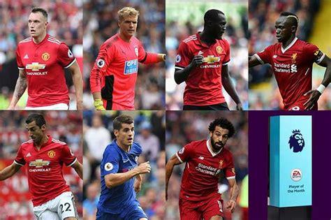 epl potm october 2017 fifa 18 pl potm august first fifa 18 premier league