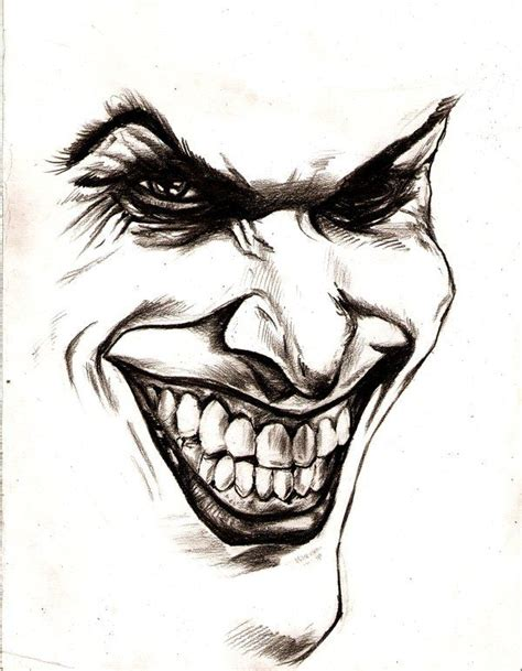 clown tattoo face collection of 25 joker outline design