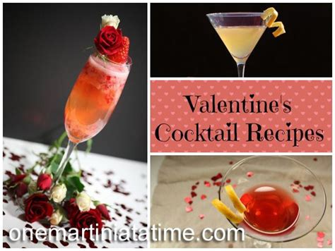 valentines day drink recipes cocktail recipes recipes