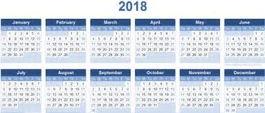 Calendar 2018 Template 2018 Calendar Templates Image Calendar 2017 2018