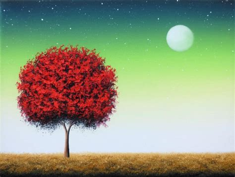 tree original original painting tree painting canvas