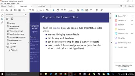 youtube tutorial lyx presentation with beamer in lyx part 1 youtube