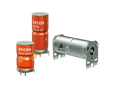 epcos capacitor usa aluminum electrolytic capacitors rugged versions with higher ripple current capability tdk