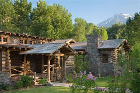 ranch house plans log cabin stone victorian tranquil living plan 360 ranch guest cabin rustic exterior other metro