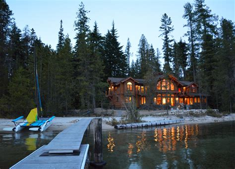 Small Log Cabin Home Plans Sketches To Reality Designing A Waterfront Home On Priest