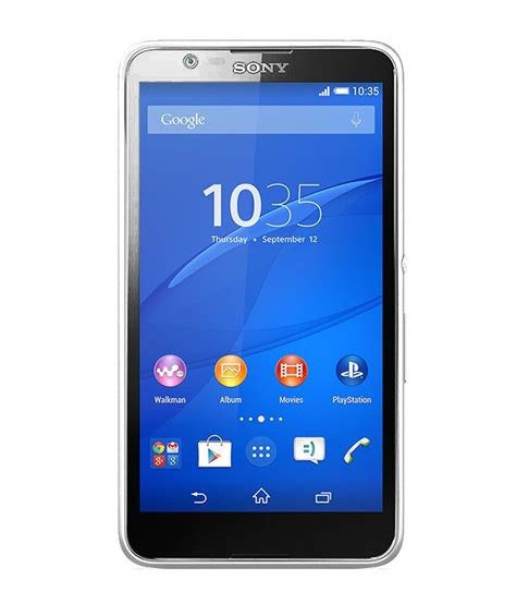 Hp Sony Android E4 sony xperia e4 dual sim smart android mobile phone white price in india buy sony xperia e4