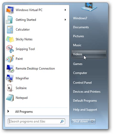 where is the search box in windows 7 windows 7 start menu search box missing user